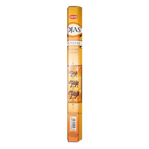 HEM Sandal Rojas Incense, 20g (20 Sticks)