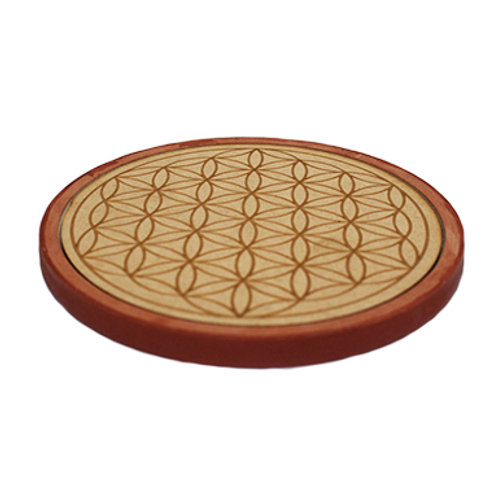Flower of Life Charger Plate