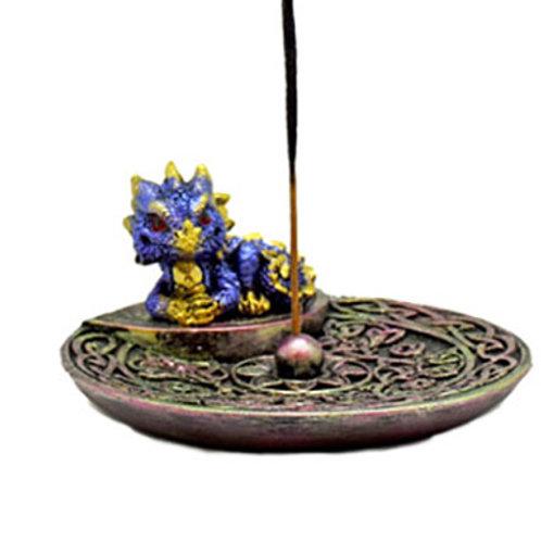 Blue Dragon Incense Stick Burner