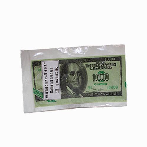 Ancestor Money, American (3 pack)