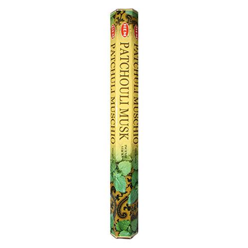 HEM Patchouli Musk Incense, 20g (20 Sticks)