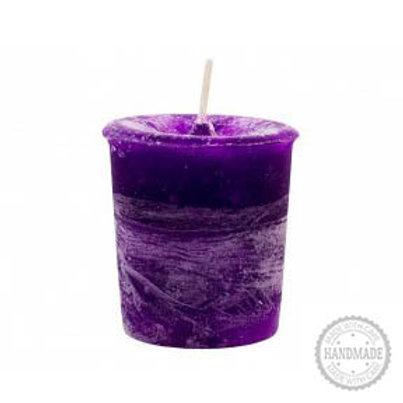 Crown Chakra Votive Candle