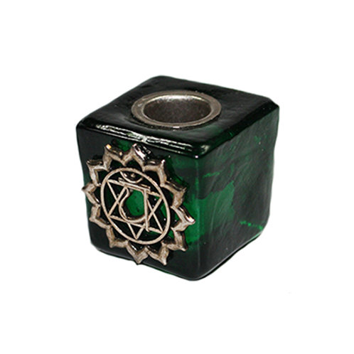 Heart Chakra 'Chime' Candle Holder