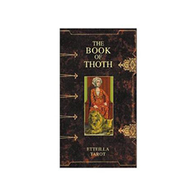 Etteillia Book of Thoth Tarot Deck