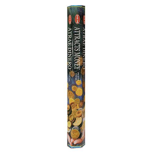 HEM Attracts Money Incense, 20g (20 Sticks)