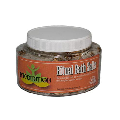 Meditation Ritual Bath Salts, 9 Oz.
