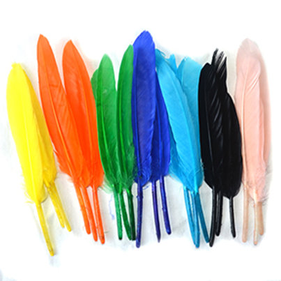 Dyed Feather (8 Colors) - Price is for one only