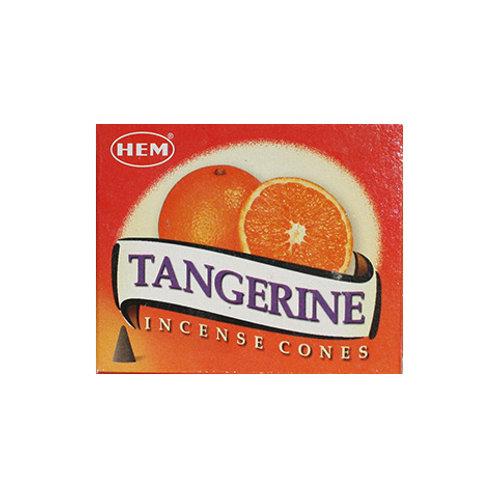 HEM Tangerine Cone Incense, 25g (10 Cones)