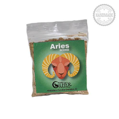 Aries Incense, 1 Oz. Package (Other Worldly Goods)