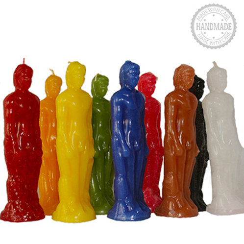 Male Candle - Multi Colors