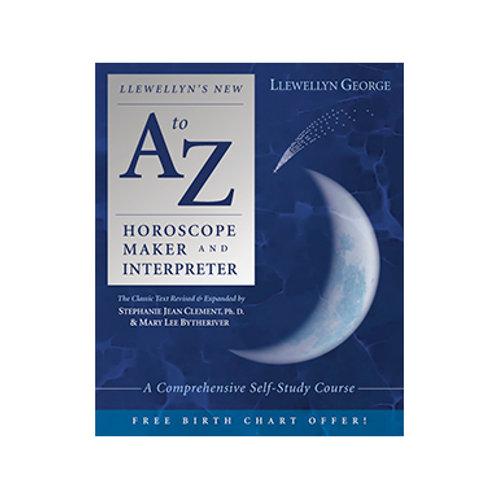 Llewellyn's New A-Z Horoscope Maker and Interpreter - By Llewellyn George