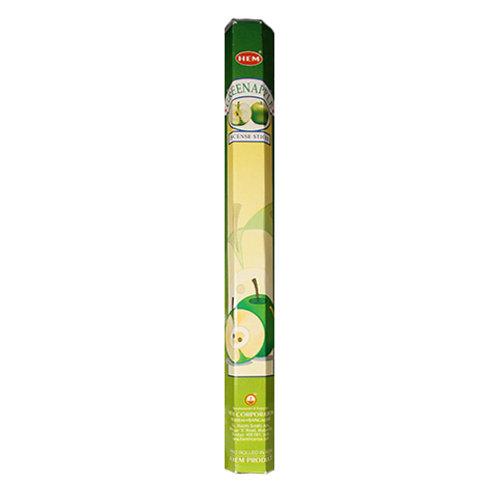 HEM Green Apple Incense, 20g (20 Sticks)