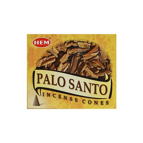HEM Palo Santo Incense Cones, 25g (10 Cones)