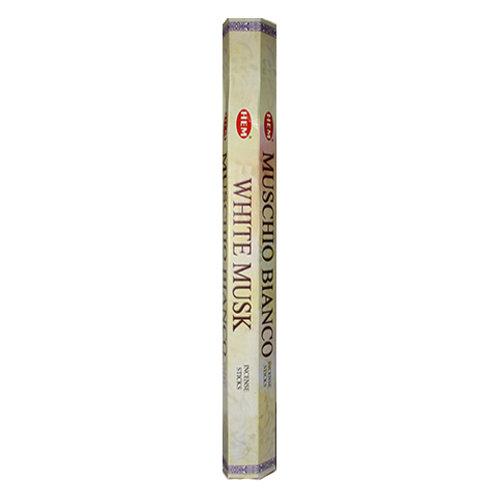 HEM White Musk Incense,, 20g (20 Sticks)
