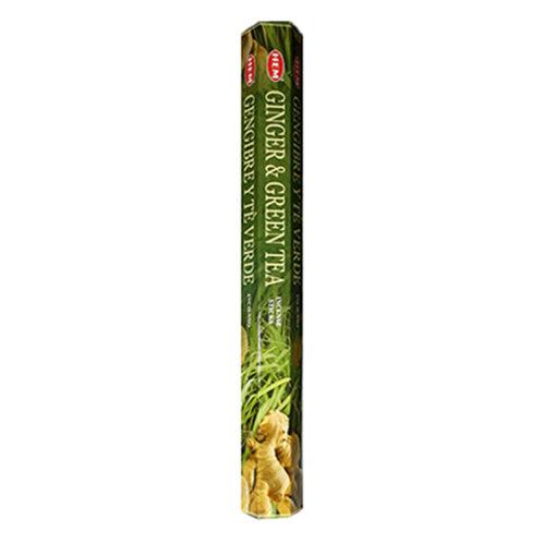 HEM Ginger & Green Tea Incense, 20g (20 Sticks)