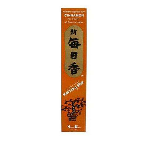 Morning Star Cinnamon Incense Sticks (50 in Box)