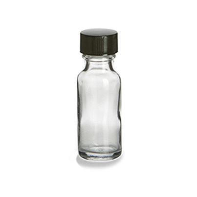 1/2 Ounce Clear Bottle