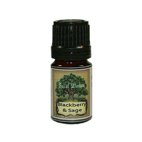 Blackberry & Sage Fragrance Oil, 5 ml.