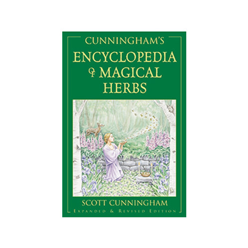 Cunningham's Encyclopedia of Magical Herbs - By Scott Cunningham
