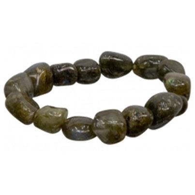 Labradorite Tumbled Stone Bracelet