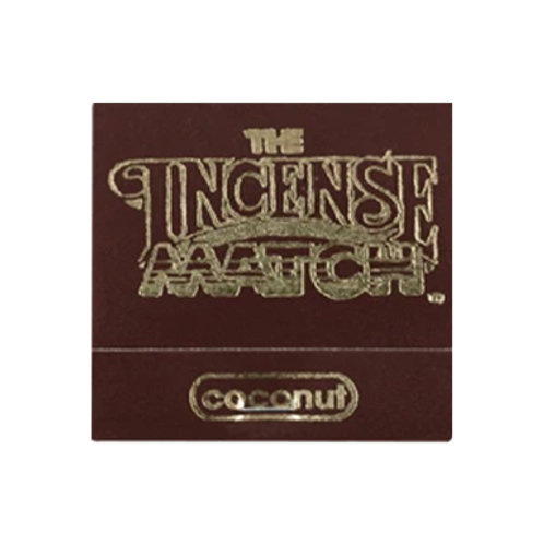 Coconut Match Incense (30 Matches)