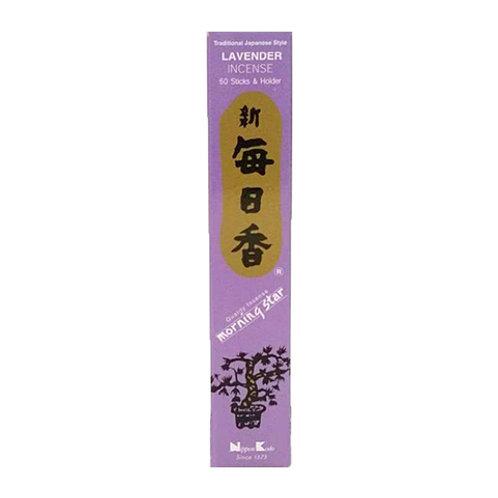 Morningstar Lavender Incense Sticks (50 in Box)