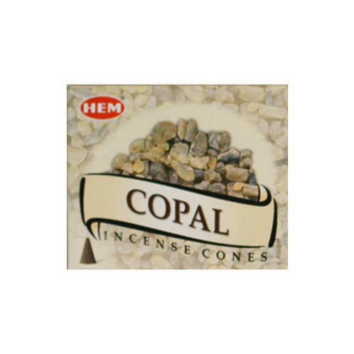 HEM Copal Incense Cones, 25g (10 Cones)