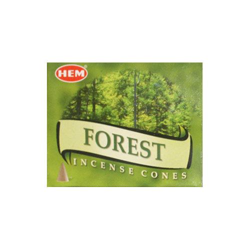 HEM Forest Incense Cones, 25g (10 Cones)