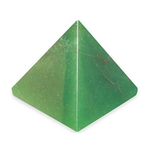 Green Aventurine Crystal Pyramid, Multi Sizes