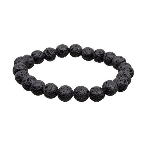 Lava Round Elastic Bracelet - Multi-Sizes