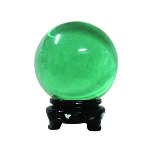 Crystal Ball, Green, Multi Sizes