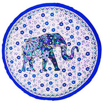 Elephant Tapestry (Round)