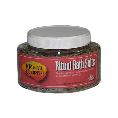 Mental Clarity Ritual Bath Salts, 9 Oz.