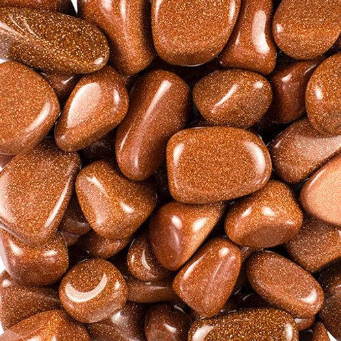 Goldstone, Polished - 2 Sizes