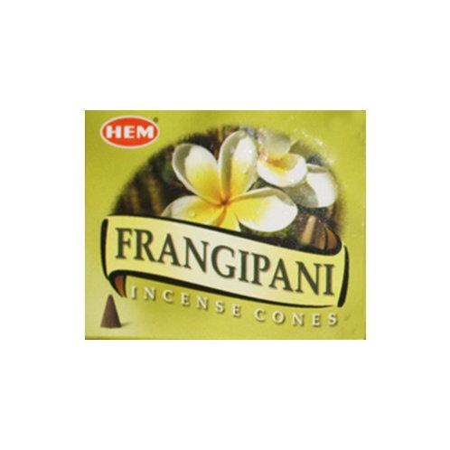 HEM Frangipani Incense Cones, 25g (10 Cones)