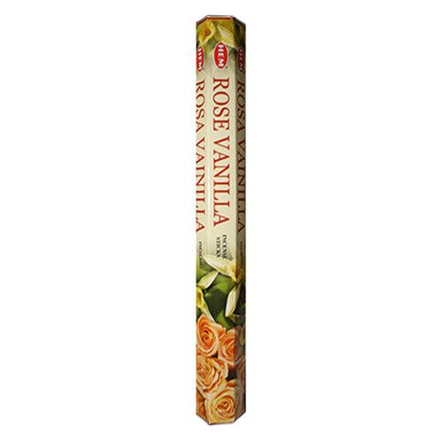 HEM Rose Vanilla Incense, 20g (20 Sticks)