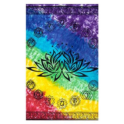 Chakras Lotus Tapestry