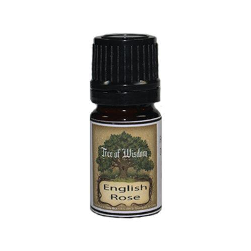English Rose Fragrance Oil, 5 ml.