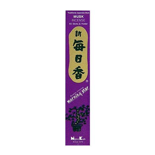Morningstar Musk Incense Sticks (50 in Box)