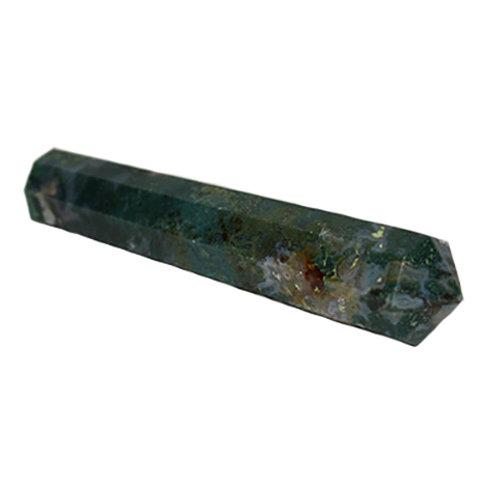 Moss Agate Wand