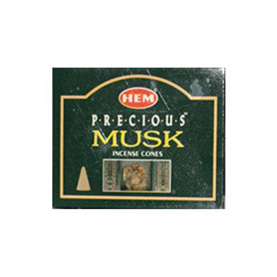 HEM Musk Incense Cones, 25g (10 Cones)