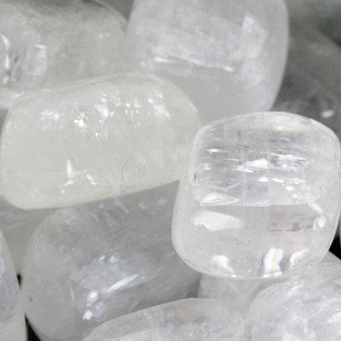 Calcite, White Polished (Medium Size)