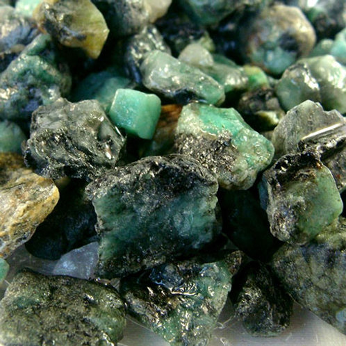 Emerald, Rough (Very Small Size)