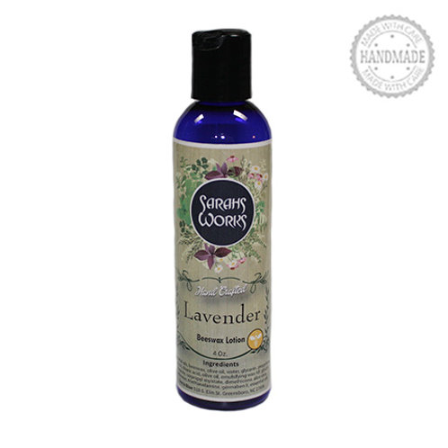Lavender Beeswax Lotion 4 Oz.