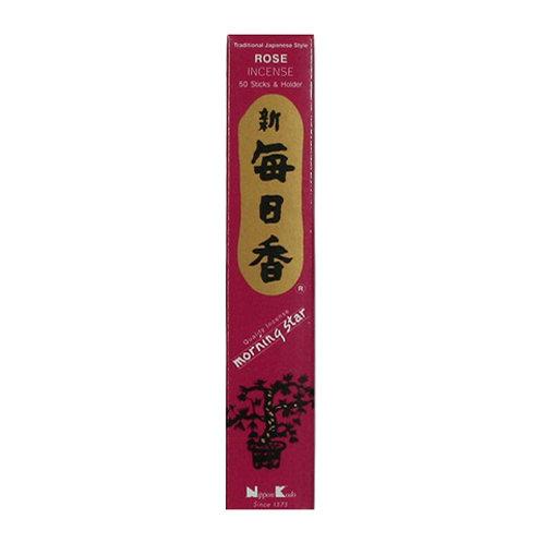 Morningstar Rose Incense Sticks (50 in Box)