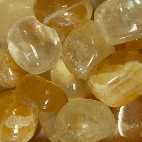 Calcite, Gold Polished (Medium)