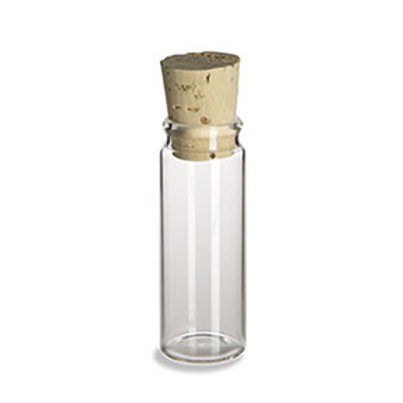 1.2 Ounce Glass Bottle with Cork