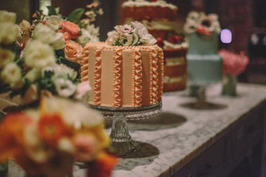 Cake stands, available to hire