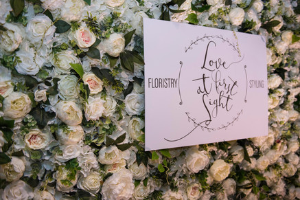 Luxury, textured flower wall hire_Love A