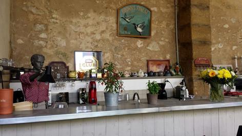 Rik'roque maison d'hôtes bar jardin
